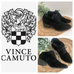 Vince Camuto Lanaia Bootie Leather Black Size 8